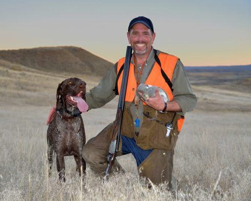 Tex is a wonderful hunting buddy.