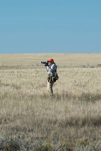 A fellow bird hunter / photographer.